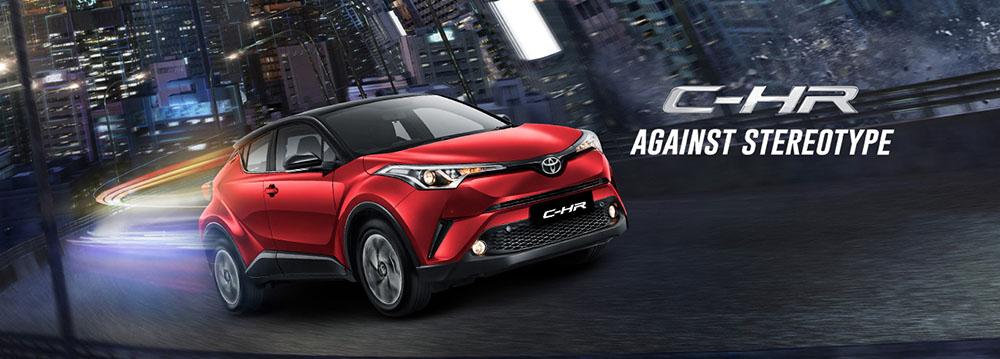 Toyota CHR di Solo