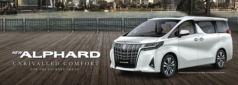 Toyota Alphard Solo