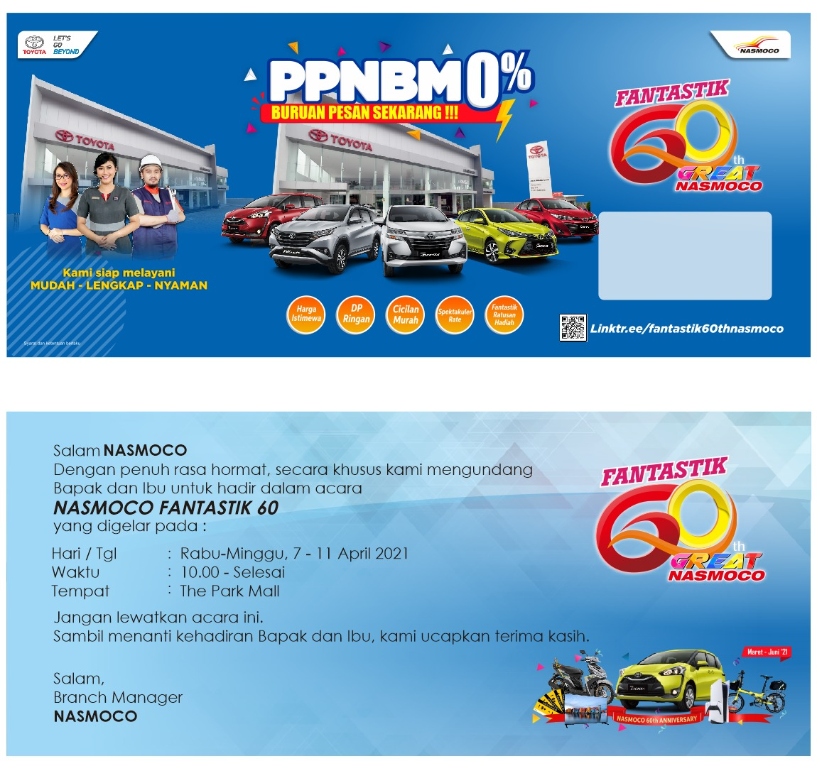 Pameran Toyota di The Park Mall